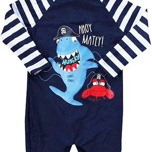 Other - Infant Baby Boys Rash Guard Swimsuit Octopus Long